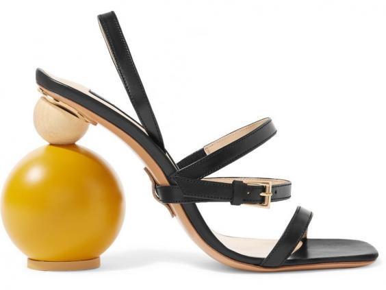 jacquemus Bahia leather sandals