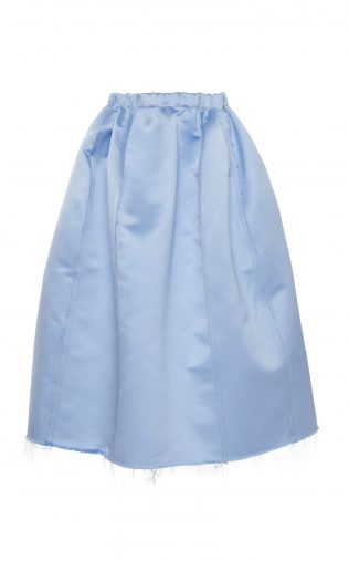 Marni「Double Face Satin Midi Skirt」