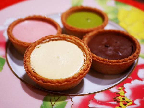 成城石井 4種のミニチーズケーキタルト