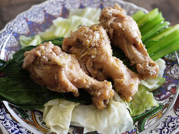 レシピ例「鶏手羽元の滋養煮」