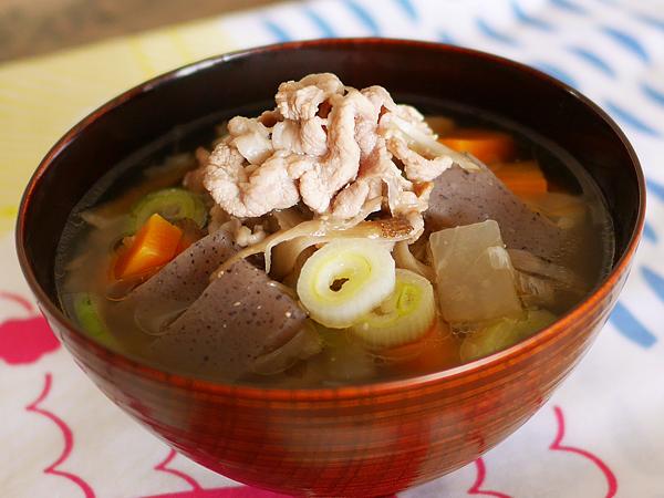 レシピ例「豚汁」