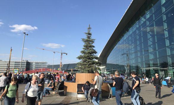モスクワの空港