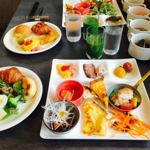 ホテルピエナ神戸の朝食
