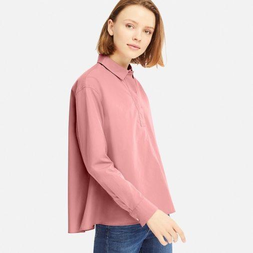 エクストラファインコットンAラインシャツ