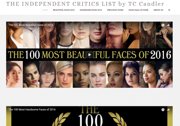 『The Independent Critics List by TC Candler』