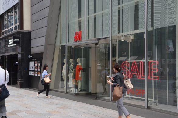 H&M銀座店