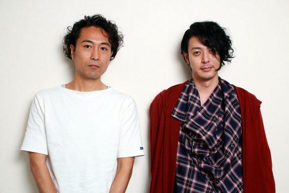左から、片桐監督とオダギリジョーさん