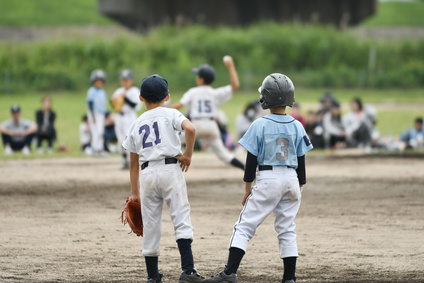 少年野球の試合