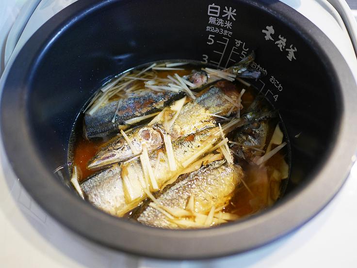 さんまの炊き込みご飯 作り方(4)
