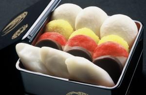 金沢の「五色生菓子」