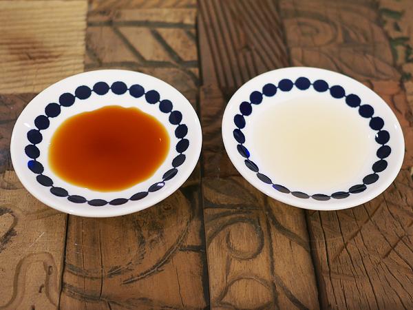 酢の色(黒酢/酢)