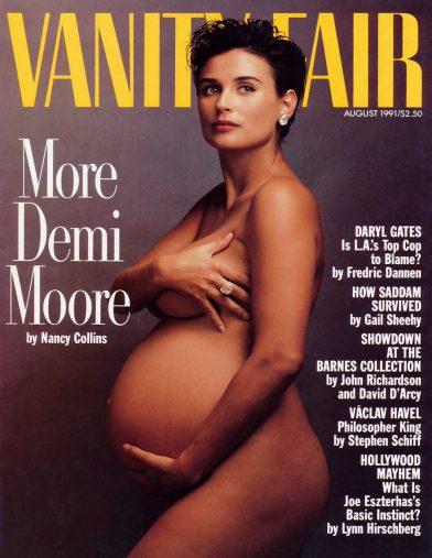 デミ・ムーア『ヴァニティ・フェア』1991年8月号
