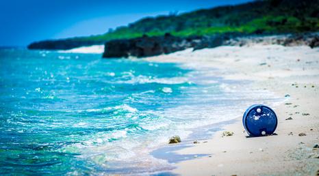 沖縄・久高島の伊敷浜