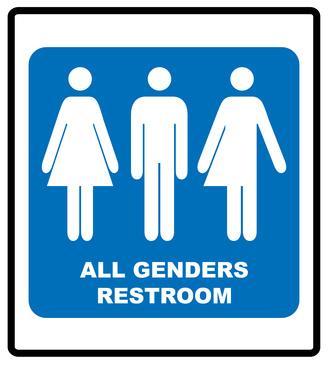 性別不問トイレマーク