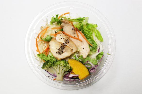 1食分の野菜が摂れる! ブランパスタサラダ