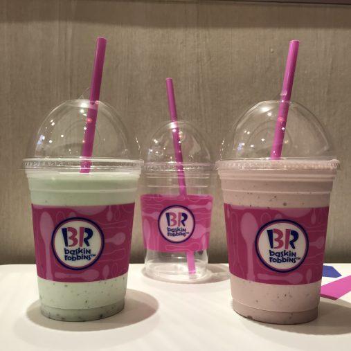 サーティワン アイスクリーム(2つのフレーバーをミックスイメージ)