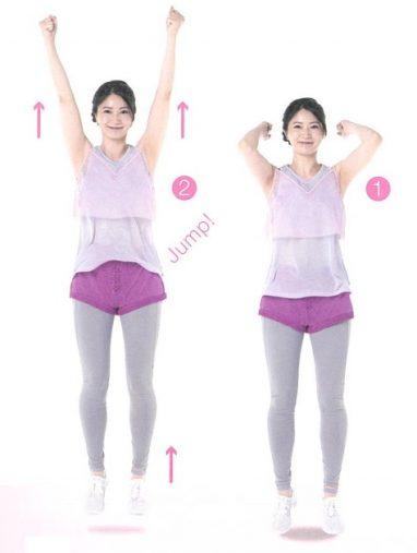 跳跃减肥法