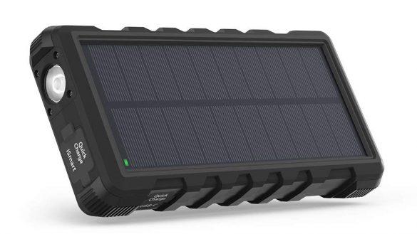 RAVPOWER【ソーラーモバイルバッテリー 25000mAh】6,299円