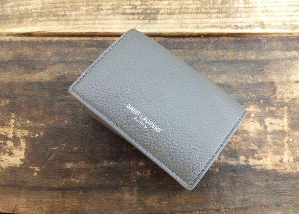 三つ折り財布(サンローラン)