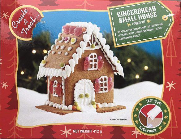 「カナダ製 ジンジャーブレッドスモールハウスキット Create A Treat クリスマス ハウスキット