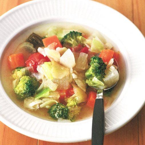 基本の「腹ペタスープ」
