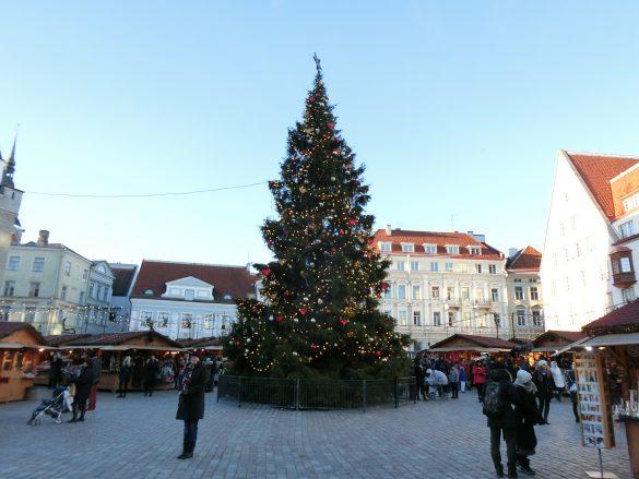 タリン(エストニア)のクリスマスマーケット