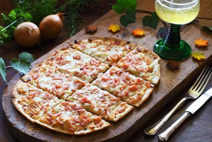 ドイツ版のピザ・フラムクーヘン