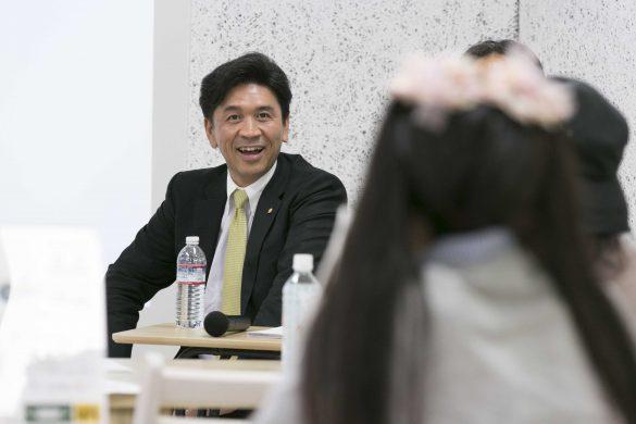 加賀木材の代表取締役・増江世圭社長