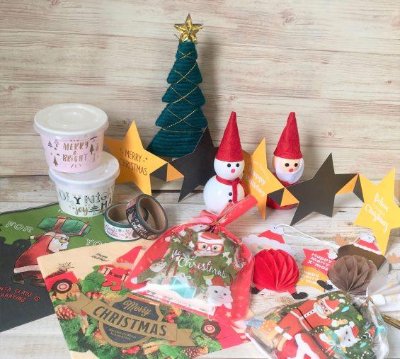セリアの100円クリスマス雑貨