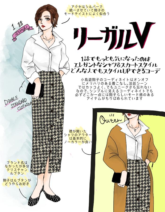 リーガルV』米倉涼子ファッションはマネできる♪メチャ細見え