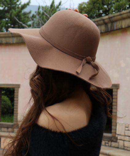 耳あてつき帽子