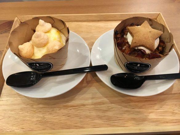 阿部さん直伝のホットヨーグルト菓子2つ
