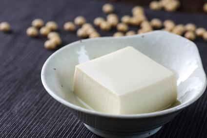 豆腐にもオリーブオイル