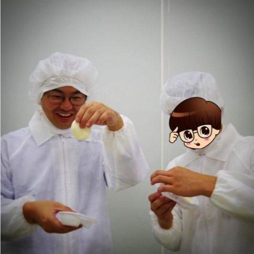 「雪見だいふく」試食 北村考志さんとシズリーナ