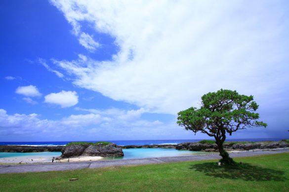 喜界島のスギラビーチ