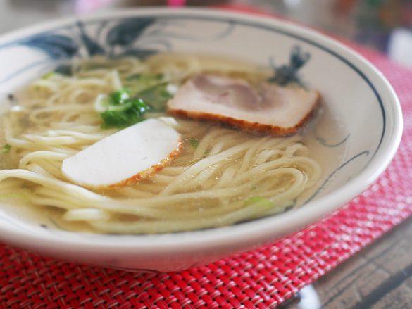 冷凍麺 お水がいらない 沖縄懐石赤坂潭亭 沖縄風そば(キンレイ)