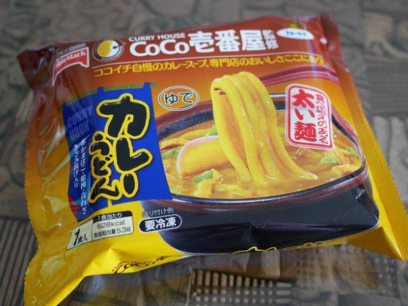 CoCo壱番屋監修カレーうどん(テーブルマーク)