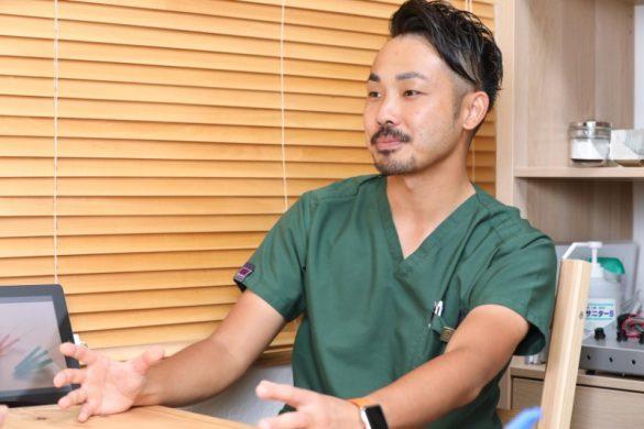 「関口鍼灸治療院HEAL the WORLD」総院長の関口賢さん