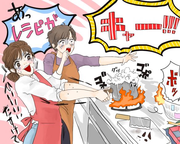 バレンタインチョコを手作り