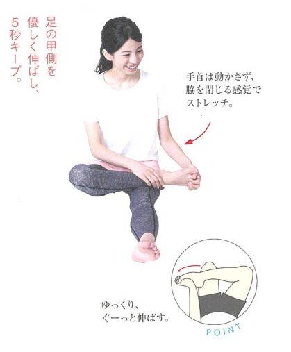 ゆびのば体操 STEP4