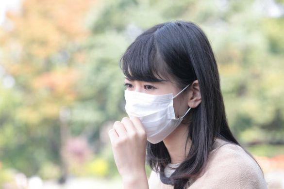 花粉症マスクせき咳