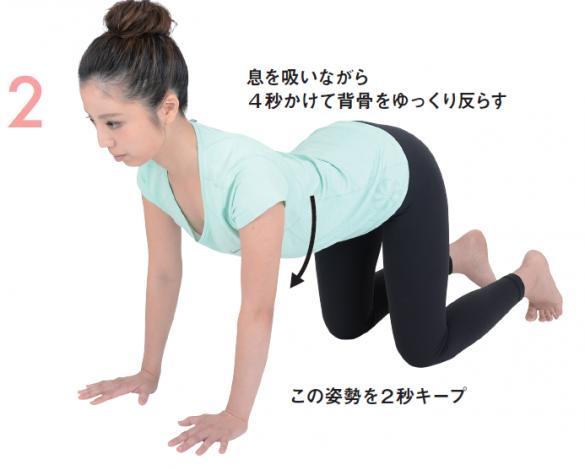 ゆる関節ストレッチ②背骨を反らす