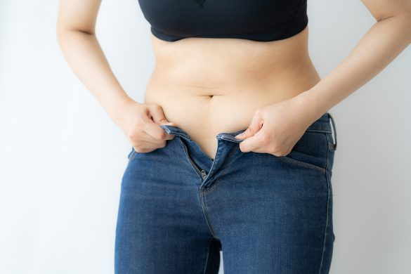 代謝の低下が肥満や下半身太りに