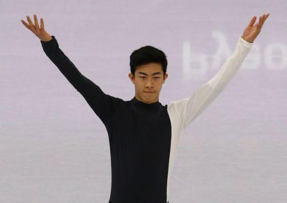 平昌オリンピックでのネイサン・チェン選手(C) Zhukovsky