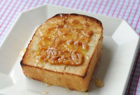 ディップを使ったパン