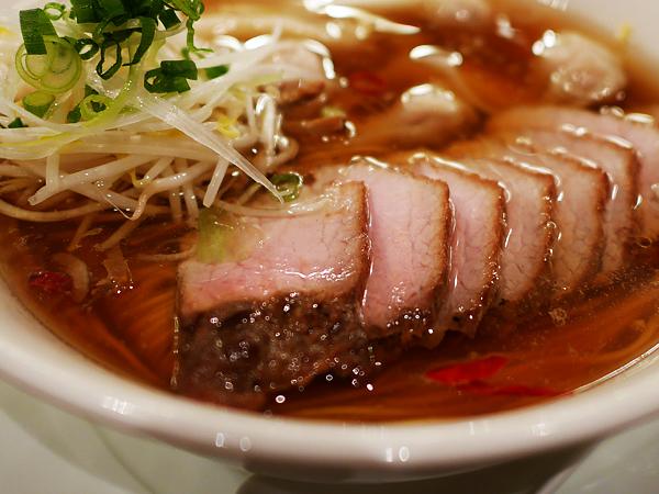 中華そば屋・すずらん(恵比寿)「チャーシューワンタン麺」