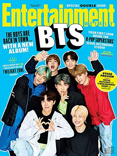 BTS『Entertainment Weekly Magazine (April 5 2019) 』Entertainment Weekly