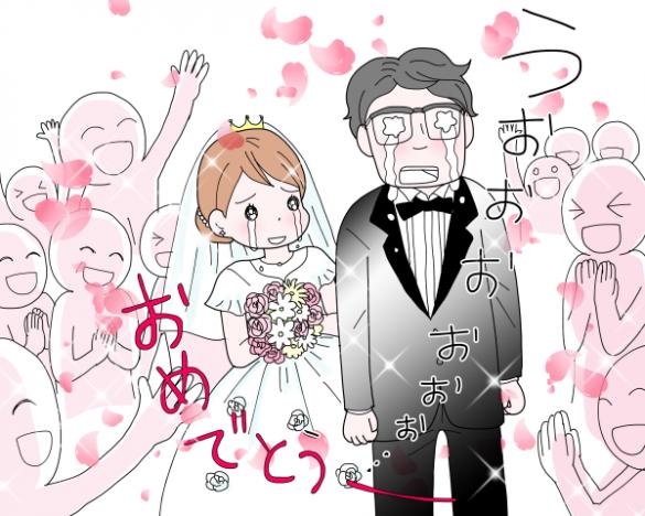 結婚サプライズ