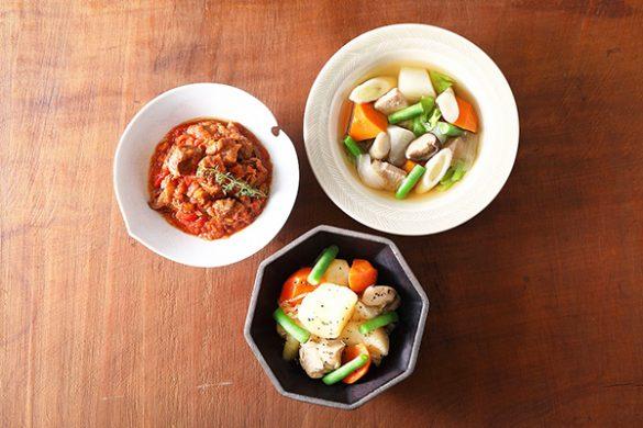 プレミアム惣菜6食セット 3食×各2袋(税込 3,240 円)