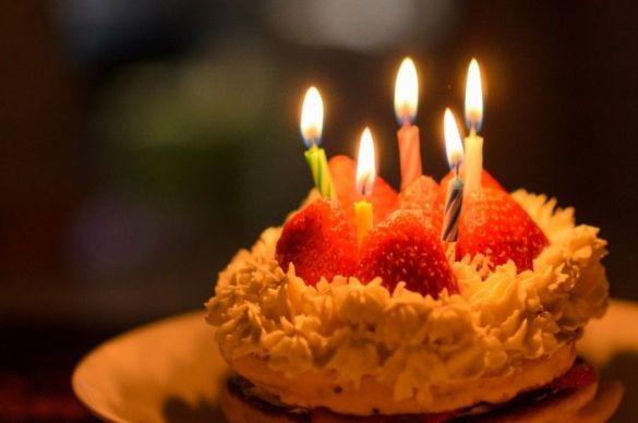 バースデーケーキ誕生日会